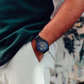 Montre Montignac S Automatique Bleu - Montres Homme   Histoire d'Or