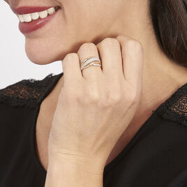 Bague Nila Or Jaune Diamant - Bagues avec pierre Femme   Histoire d'Or