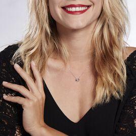 Collier Or Blanc Julianoir Diamants - Colliers Coeur Femme | Histoire d'Or