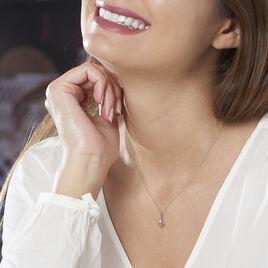 Collier Liana Or Blanc Diamant - Bijoux Femme | Histoire d'Or