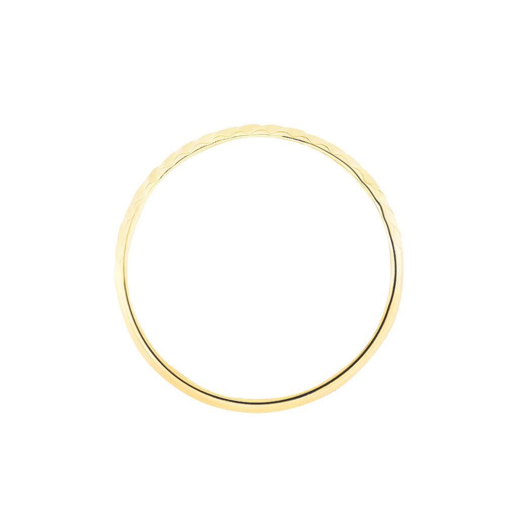 Alliance Calista Diamantee Or Jaune - Alliances Femme | Histoire d'Or