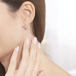 Boucles D'oreilles Or Jaune Alexine Puces - Ear cuffs Femme | Histoire d'Or