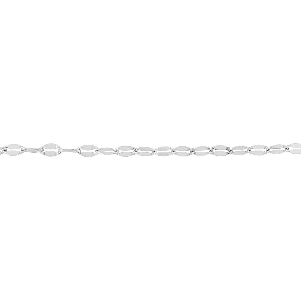 Bracelet Adelaide Argent Blanc - Bracelets fantaisie Femme | Histoire d'Or