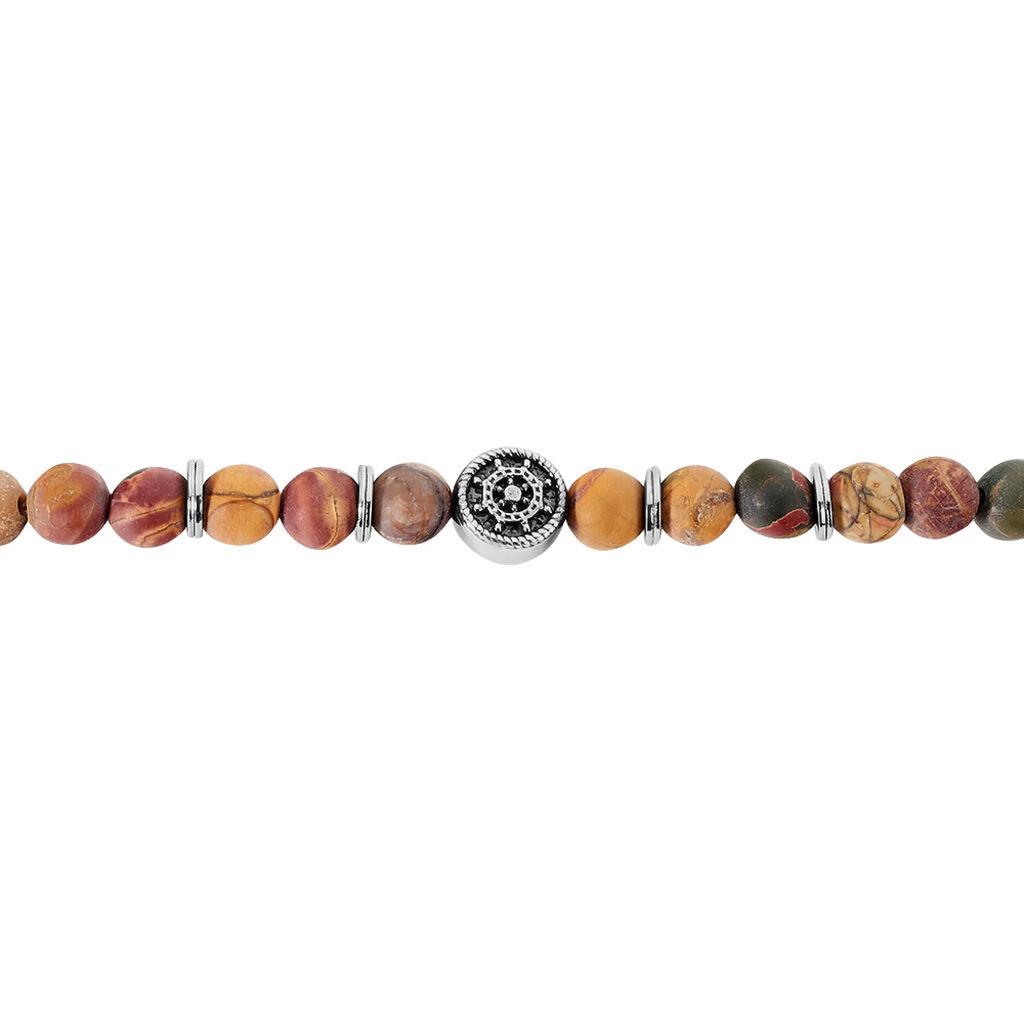 Bracelet Hugues Acier Blanc Quartz - Bracelets fantaisie Homme   Histoire d'Or