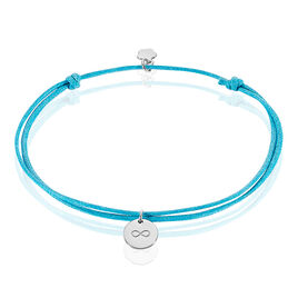 Bracelet Marfa Argent Blanc - Bracelets Infini Femme | Histoire d'Or