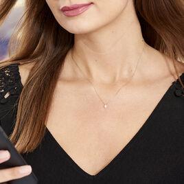 Collier Astralia Or Jaune Oxyde De Zirconium - Colliers Etoile Femme | Histoire d'Or