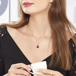 Collier Argent Ambre Boule - Colliers fantaisie Femme | Histoire d'Or