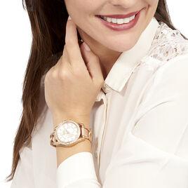Montre Fossil Riley Beige - Montres classiques Femme | Histoire d'Or