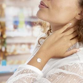 Bracelet Araroundus Argent Blanc Oxyde De Zirconium - Bracelets Lune Femme | Histoire d'Or