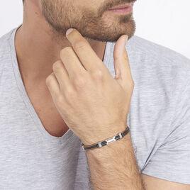 Bracelet Corelieae Or Acier Bicolore - Gourmettes Homme | Histoire d'Or