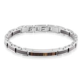 Bracelet Nuku Acier Blanc - Bijoux Homme   Histoire d'Or