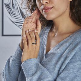 Bague Tour Complet Mondy Argent Rhodie Oxydes De Zirconium - Bagues avec pierre Femme | Histoire d'Or