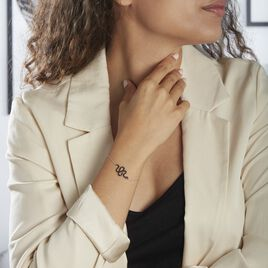 Bracelet Muses Argent Rhodie Oxydes De Zirconium - Bracelets fantaisie Femme | Histoire d'Or