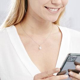 Collier Mathie Argent Blanc Perle De Culture Et Oxyde De Zirconium - Colliers fantaisie Femme | Histoire d'Or