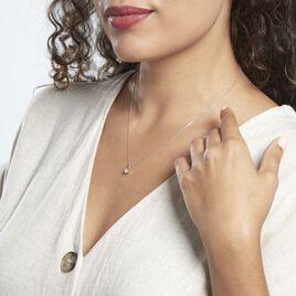 Collier Victoria Platine Blanc Diamant - Pendentifs Femme   Histoire d'Or