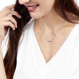 Collier Tilane Or Blanc Diamant - Bijoux Femme | Histoire d'Or