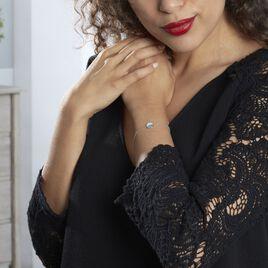 Bracelet Sybyl Argent Blanc Oxyde De Zirconium - Bracelets fantaisie Femme   Histoire d'Or