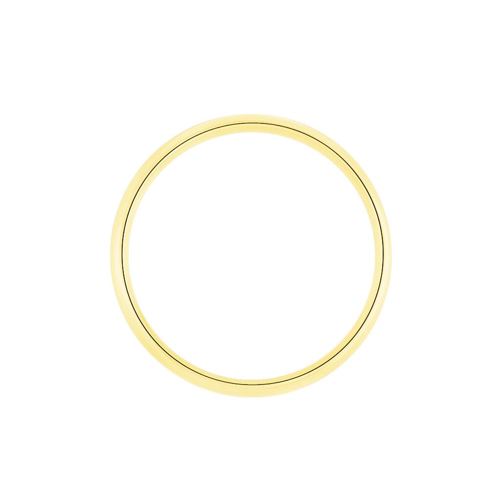 Alliance Sonia Demi Jonc Confort Or Jaune - Alliances Unisex | Histoire d'Or