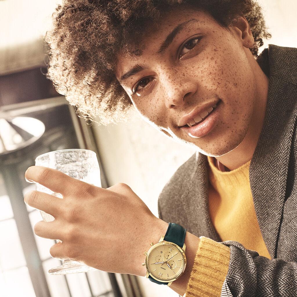 Montre Fossil Neutra Champagne - Montres tendances Homme   Histoire d'Or