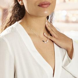 Collier Argent Rhodie Alisanos Oxydes De Zirconium - Colliers Coeur Femme | Histoire d'Or