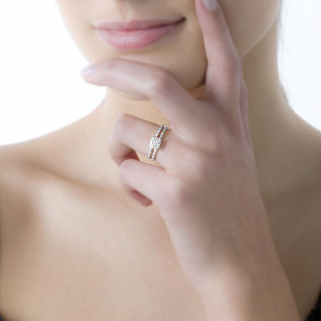 Bague Aude Or Jaune Saphir Et Diamant - Bagues avec pierre Femme   Histoire d'Or