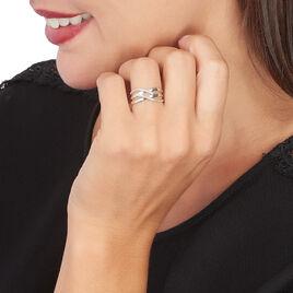 Bague Joassine Or Blanc Diamant - Bagues avec pierre Femme | Histoire d'Or