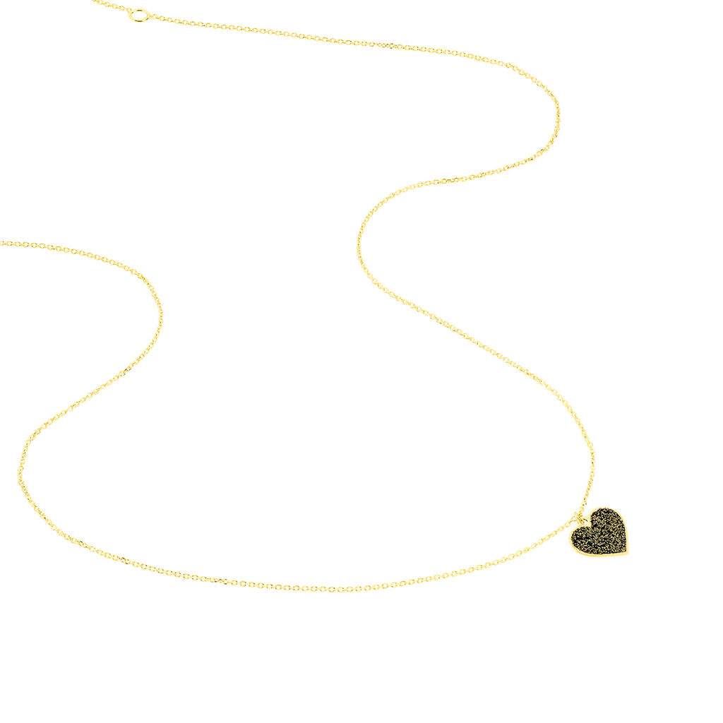 Collier Marta Or Jaune - Colliers Coeur Femme | Histoire d'Or