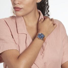Montre  Fossil Copeland Three Hand Bleu - Montres Femme | Histoire d'Or