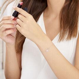 Bracelet Joya Argent Blanc - Bracelets Coeur Femme | Histoire d'Or