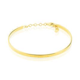 Bracelet Jonc Dreaming Argent Jaune - Bijoux Etoile Femme | Histoire d'Or