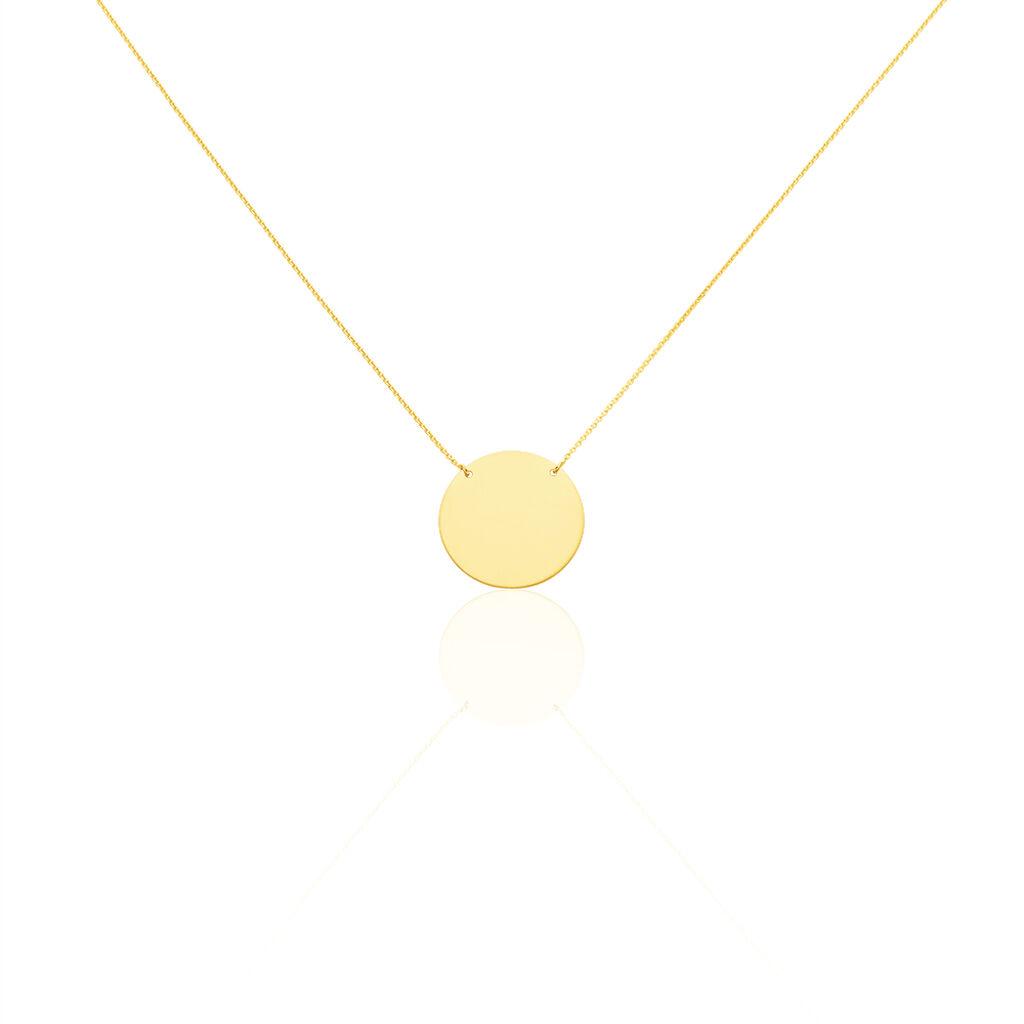Collier Lisa Or Jaune - Bijoux Femme   Histoire d'Or