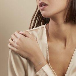Bracelet Bertille Argent Blanc Oxyde De Zirconium - Bracelets Coeur Femme | Histoire d'Or