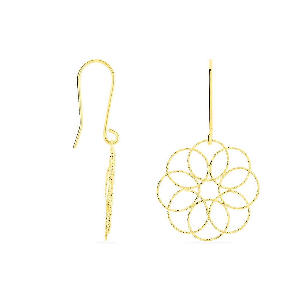 Boucles D'oreilles Pendantes Or Jaune - Boucles d'oreilles pendantes Femme | Histoire d'Or