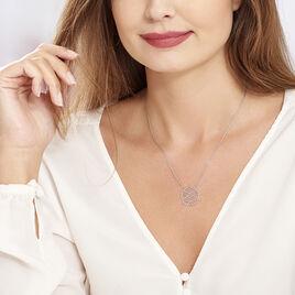 Collier Naelia Argent Blanc - Colliers fantaisie Femme | Histoire d'Or