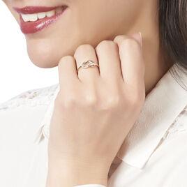 Bague Aman Or Jaune Diamant - Bagues avec pierre Femme | Histoire d'Or