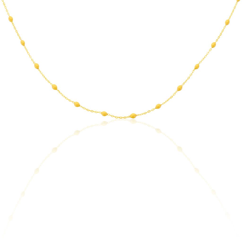 Collier Lilli Or Jaune - Bijoux Femme   Histoire d'Or
