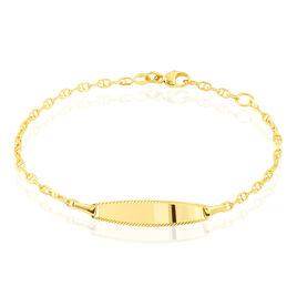 Bracelet Identite Bebe Or Jaune Fabricia - Bracelets Communion Enfant | Histoire d'Or