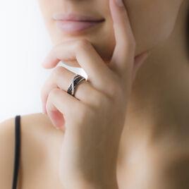 Bague Letty Argent Blanc Oxyde De Zirconium - Bagues avec pierre Femme | Histoire d'Or