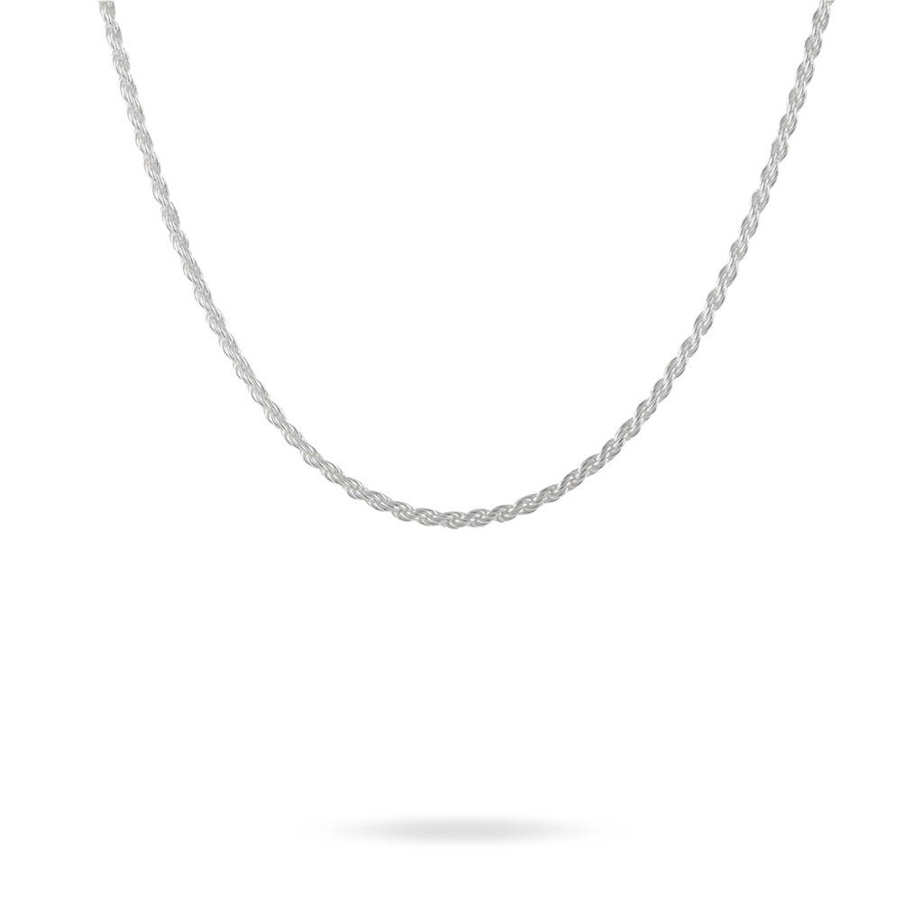 Chaîne Celianeae Argent Blanc - Chaines Femme | Histoire d'Or