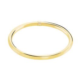 Bracelet Jonc Adelson Acier Jaune - Bracelets fantaisie Femme | Histoire d'Or