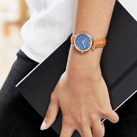 Montre Fossil Fsl Carlie Mini Bleu - Montres tendances Femme | Histoire d'Or