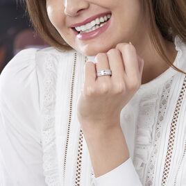 Bague Eugenie Or Blanc Diamant - Bagues avec pierre Femme   Histoire d'Or