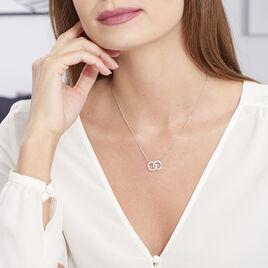Collier Anne Argent Blanc Oxyde De Zirconium - Colliers fantaisie Femme | Histoire d'Or