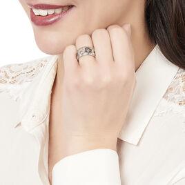 Bague Pamella Argent Blanc Oxyde De Zirconium - Bagues avec pierre Femme | Histoire d'Or