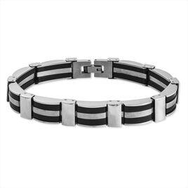 Bracelet Gervaiseae Acier Blanc - Bracelets fantaisie Homme | Histoire d'Or