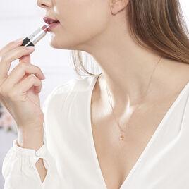 Collier Tinna Or Rose Morganite Et Diamant - Bijoux Femme | Histoire d'Or