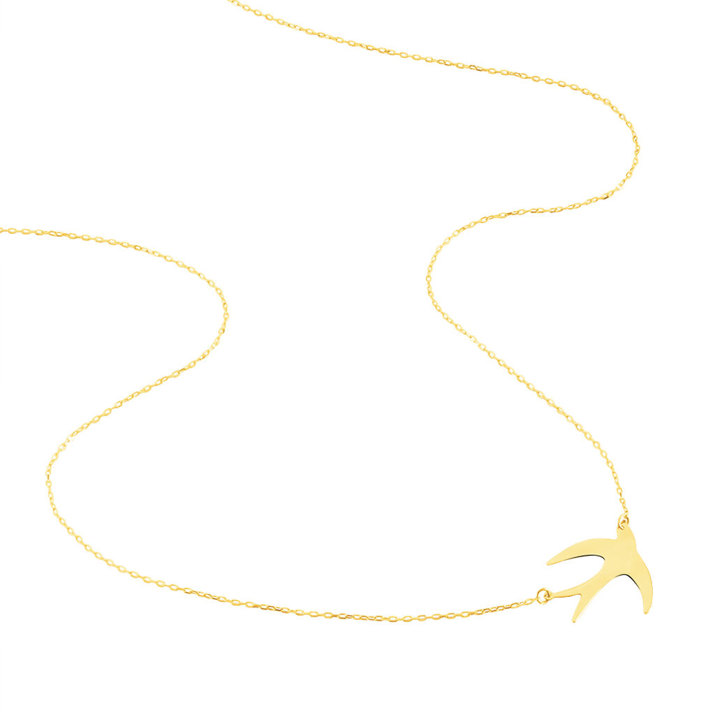 Collier Emmeline Or Jaune