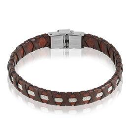 Bracelet Luc Acier Blanc - Bracelets fantaisie Homme | Histoire d'Or