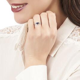 Bague Gulay Or Blanc Saphir Et Diamant - Bagues solitaires Femme | Histoire d'Or