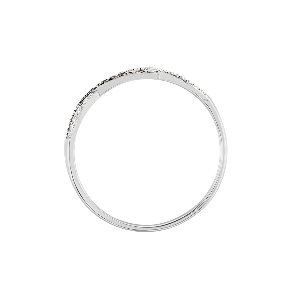 Bague Lilybeth Or Blanc Diamant